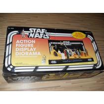 Star Wars Action Figure Display Diorama Vintage Style