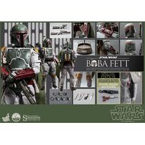 Hot Toys Star Wars Boba Fett Exclusivo 1/4 45cm En Mano