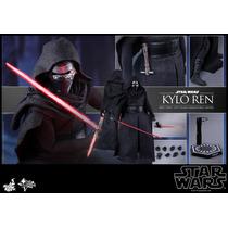 Hot Toys Star Wars Kylo Ren 1/6 Nuevo En Mano Vader Han Solo