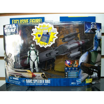 Barc Speeder Bike Con Clone Trooper Buzz Star Wars Hasbro