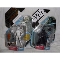 Lote 6fig 30th Boba Fett Concept Mcquarrie Animated Vader