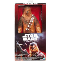 Chewbacca Star Wars Deluxe The Force Awakens. 30 Cm
