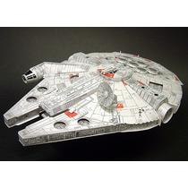 Star Wars En Papel Halcon Milenario, R2 D2, Naves, Figuras