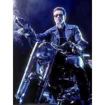 Terminator 2 Motocicleta T800 Pvc Figura Acción Cyberdyne