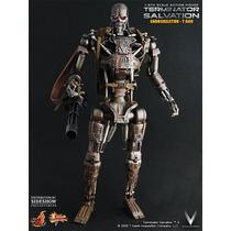 Hot Toys T-600 Endoskeleton Martin Laing Signature
