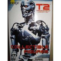 Figuras Gashapon De La Pelicula Terminator 2 Versión B/n