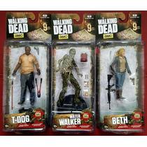 Mcfarlane The Walking Dead Series 9 T-dog Beth Walter Walker