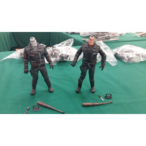 Walking Dead Comic Negan Set Balnco Y Negro Y Color