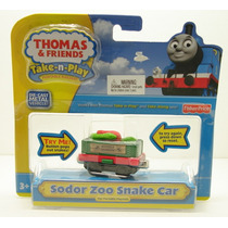 Sodor Zoo Snake Car Take N Play Thomas & Friends Take Along