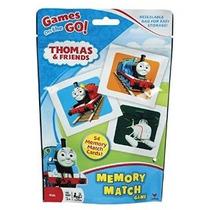 Juego De Thomas Y Sus Amigos Mini Card Match Memoria