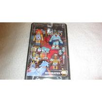 Thundercats Minimates Leon-o, Mumm-ra, Jaga, Grune Nuevo Vbf