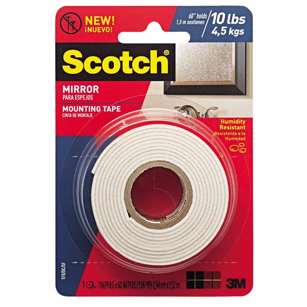 Cinta adhesiva doble cara montaje espejos scotch 3m 47 - Cinta adhesiva 3m doble cara ...