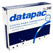 Cinta Datapac Negra Para Impresora D089-cin-dp Upc: 75366411