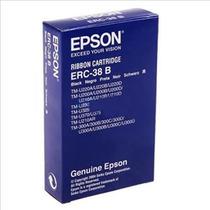 3 Cintas Miniprinter Epson Erc-38b Negro Tmu200 Tm300 Tmu325