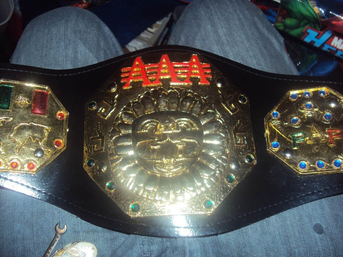 Cinturon de lucha libre triple a p ni 241 o megacampeonato aaa