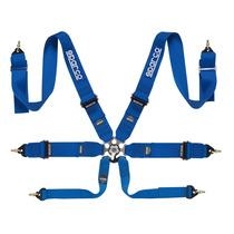 Cinturones Sparco 6 Puntos, Racing