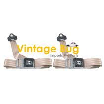 Par De Cinturones De Seguridad 3 Puntos Para Vocho Clasico