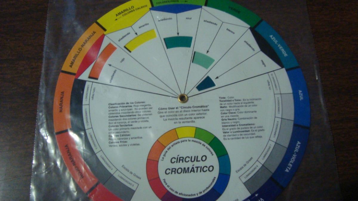 Circulo cromatico guia de colores para el artista mmu - Circulo cromatico 12 colores ...
