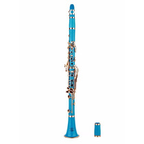 Instrumento Musical Clarinete Glory B Profesional Azul Claro