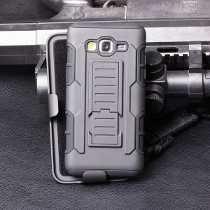 Samsung J7 Protector Robot Case+ Mica Glass De Cristal Templ