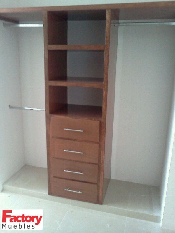 closets muebles de madera 3 en mercadolibre