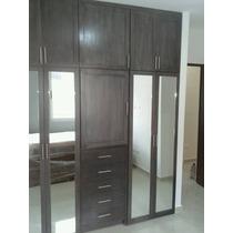 Closet Completo Con Puertas De Espejo Ancho De 2.20