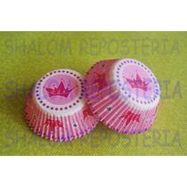 *capacillos Rosas Corona Princesas Wilton Cupcake Fondant*