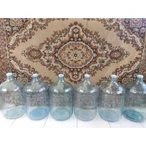 Garrafon De Vidrio Cristal 20 Litros Para Agua O Destilación