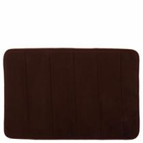 Tapete De Baño Mem/foam Chocolate Mediano Namaro Design