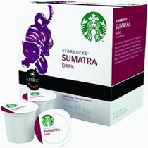 Caja Con 160 Cápsulas De Café Sumatra Starbucks Keurig