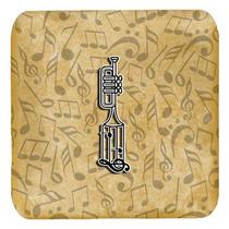 Conjunto De 4 De La Letra I Del Instrumento Musical Del Alfa