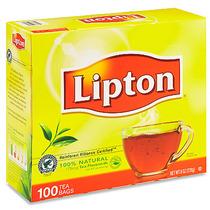 2 Cajas De Té Lipton 100 % Natural Con 100 Sobres Cada Una