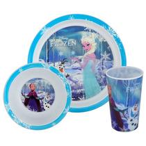 Cena Congelada Set - 3pc Oficial Forks Disney Para Niños Cu