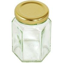 Tarro De Almacenamiento - Tala Hexagonal De Cristal Jam Pres