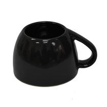 Taza De Ceramica Diseño Al Revés Hecho En México Negro