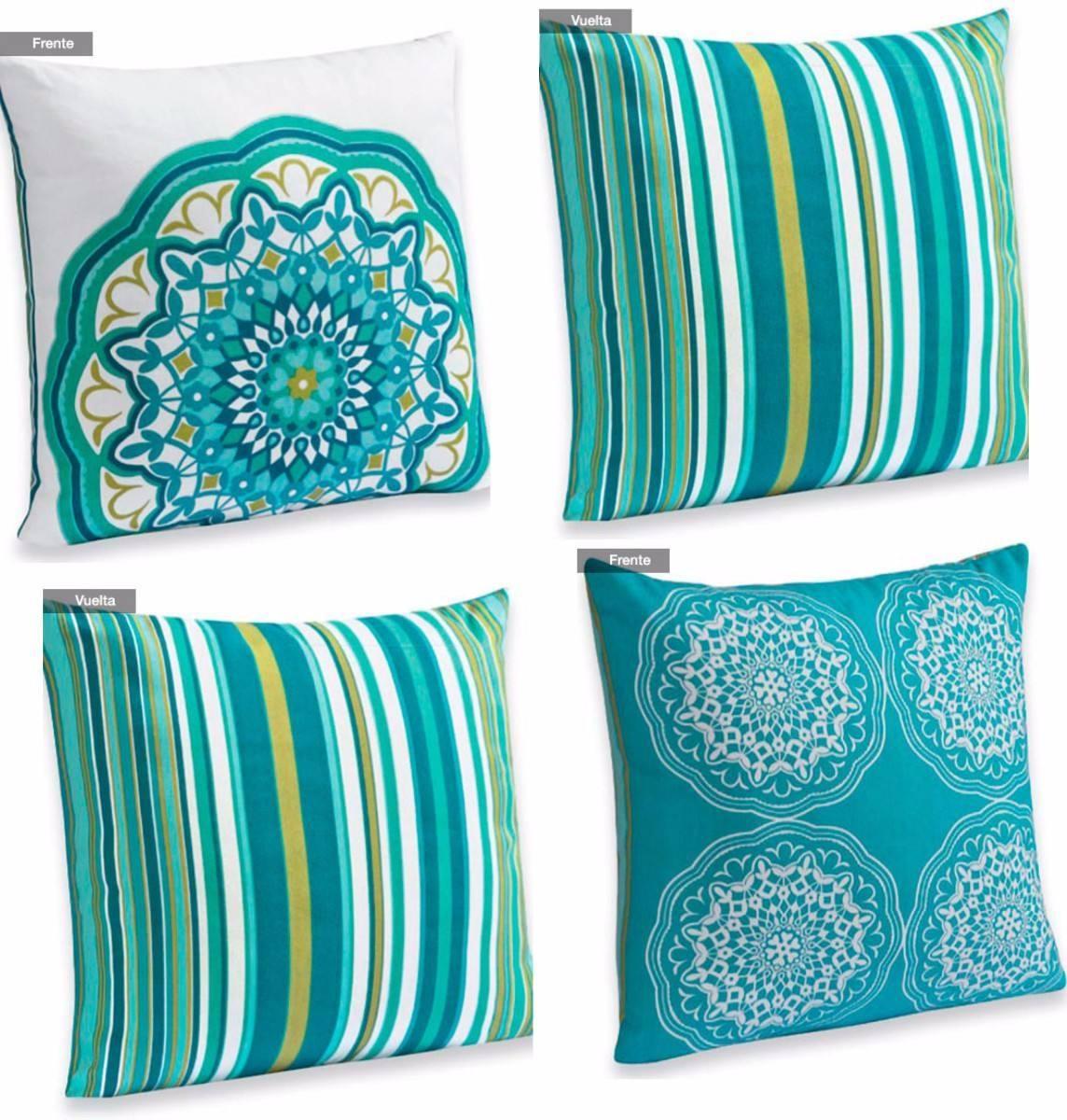 Cojines decorativos 2 pzas variedad de dise os xcaret - Cojines de diseno ...