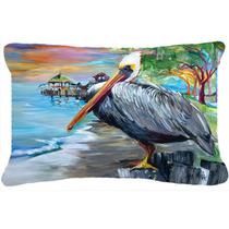Ver Pelican Tela De Lona Almohada Decorativa Jmk1021pw1216