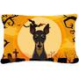Min Pin De Halloween Tela Almohada Decorativa Bb1798pw1216