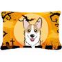 Sable De Halloween Corgi Tela Almohada Decorativa Bb1811pw12