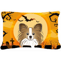 Papillon De Halloween Tela Almohada Decorativa Bb1806pw1216