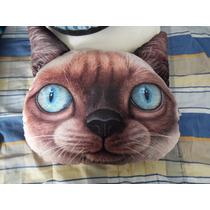 Cojin Decorativo Con Forma De Gato