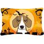 Beagle De Halloween Tela Almohada Decorativa Bb1797pw1216