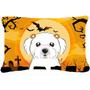 Tela De Halloween De Malta Almohada Decorativa Bb1766pw1216