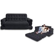 Sofa cama tapizado en gamusa muebles placencia salas for Sofa cama inflable