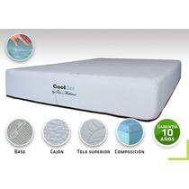 Colchon Bio Mattress Cool-gel Memory Foam Gel Individual