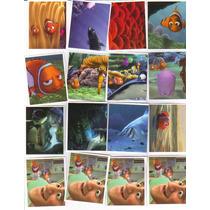 70 Estampas Álbum Imagics Buscando A Nemo. Disney Pixar.