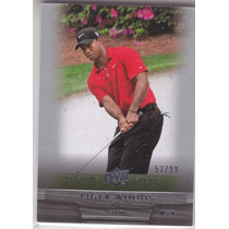 2012 Ud All Time Greats Golf Tiger Woods /99