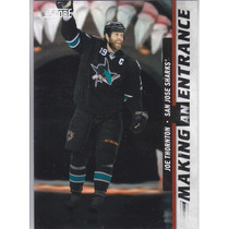 2011-2012 Score Making An Entrance Joe Thornton Sharks