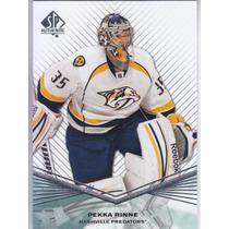 2011 - 2012 Sp Authentic Pekka Rinne G Nashville Predators