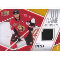 2011 - 2012 Upper Deck Jersey Jason Spezza Senators